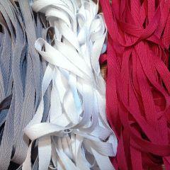 киперная лента ширина 1 см (красная, серая, белая, малина, черная) - цена 2,5 грн