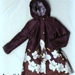 утепленное пальто оттобре 2011-6 модель 11