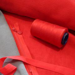 бейка-резинка матовая ширина 2 см, красная - цена 5 грн/м