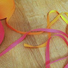 киперная лента неон оранж и неон розовый ширина 1см  Цена 2,5 грн/м