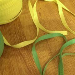 киперная лента неон желтый  и салат ширина 1см  Цена 2,5 грн/м