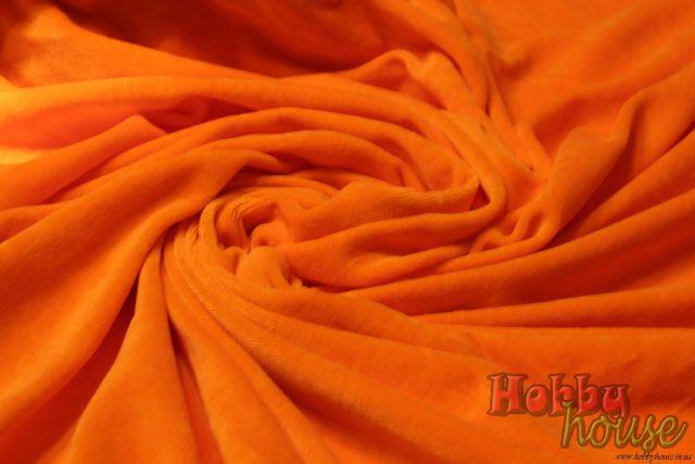 Оранжевый велюр хб 185 см - 150 грн./м.