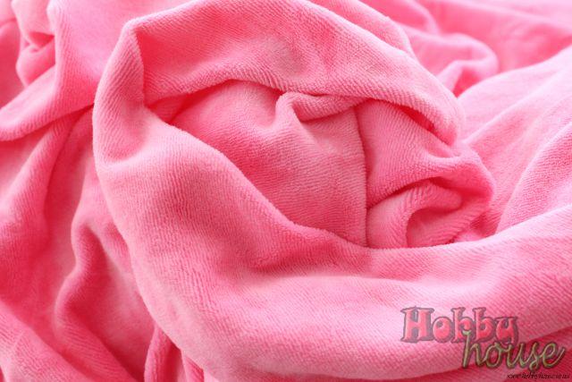 Велюр ярко-розовый, хб, 180 см - 150 грн./м