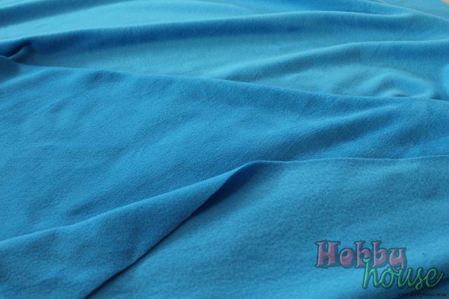 Голубой кОрал-флис, ширина 150 см - 125 грн./м