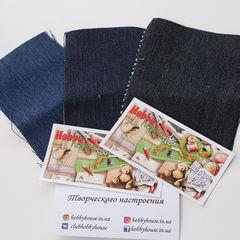 Плотный джинс с эластаном, шир. 150 см - 150 грн./м