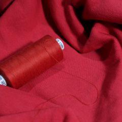 Красная саба и красный футер 3-нитка петелька