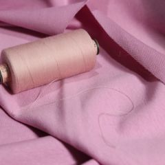 Светло-розовая саба и футер 2-нитка фрез