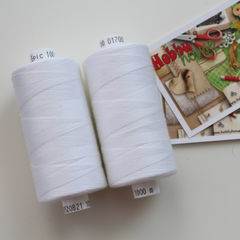 Швейные нитки Coats Epic 100  белые - 20 грн./шт.