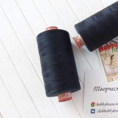 Швейная нить Saba 954 черно-синий 1000 м - 20 грн.