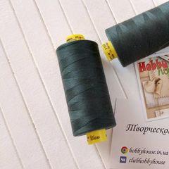 Швейная нить Saba 555 антрацит с зеленоватым подтоном 1000 м - 20 грн.