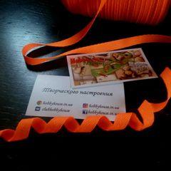 лента киперная неон оранж ширина 1см,  Цена 2,5 грн