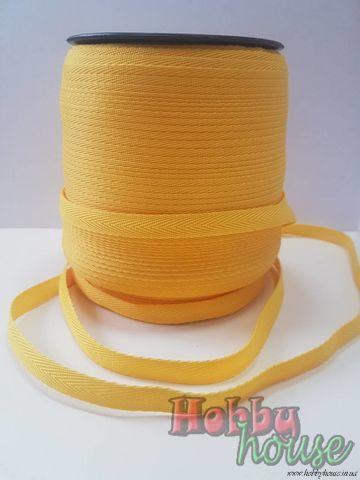 Киперная лента желток 1 см - 2,70 грн./м