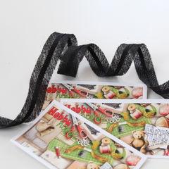 Нитепрошивная лента (формбанд) черная 15 мм - 4 грн./м