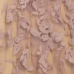 флок розы ньюд, шир. 150 см - 116 грн./м
