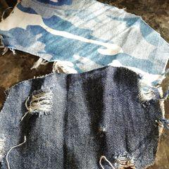 Драный джинс - 120 грн., джинс милитари - 110 грн.