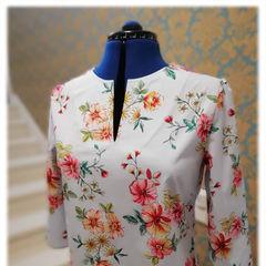блузка из хлопка