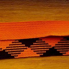 шнурки однотон и клетка длина 105 см ширина 2,5 см
