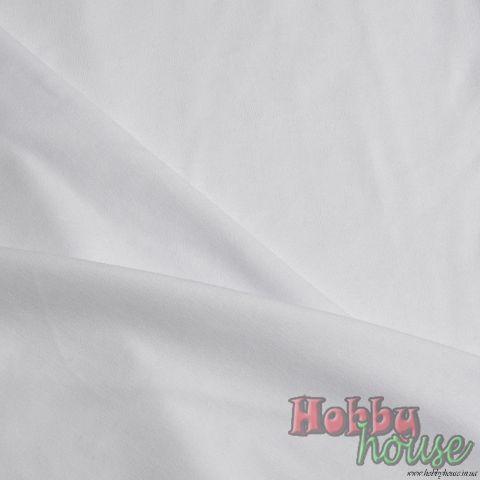 Белый интерлок - 105 грн./м