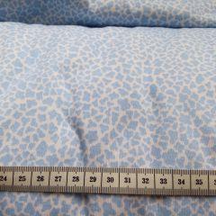 Польский интерлок голубые пятнышки - 157 грн./м