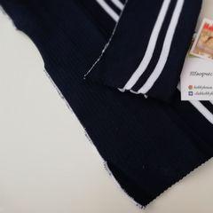 Подвяз (манжет) акриловый синий с белыми полосками 16*148 см - 60 грн.