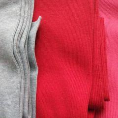 Кашкорсе плотное - серый меланж, красный, коралл (идеально подходят к футерам 3-нитка)
