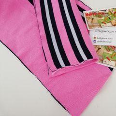 Подвяз (манжет) хб розовый с синей и белой полосками 17*124 см - 58 грн.