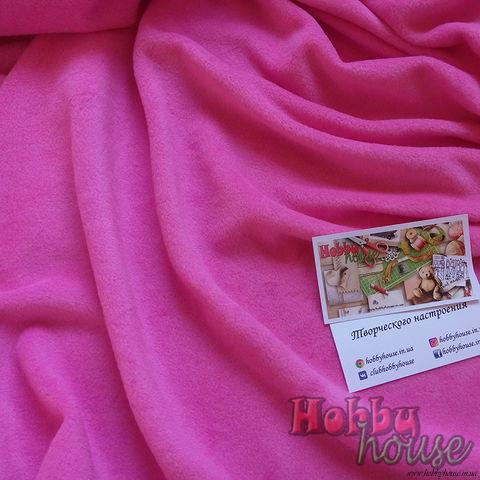 кОрал-флис (стрейч-флис) розовый, ок. 150 см - 125 грн./м