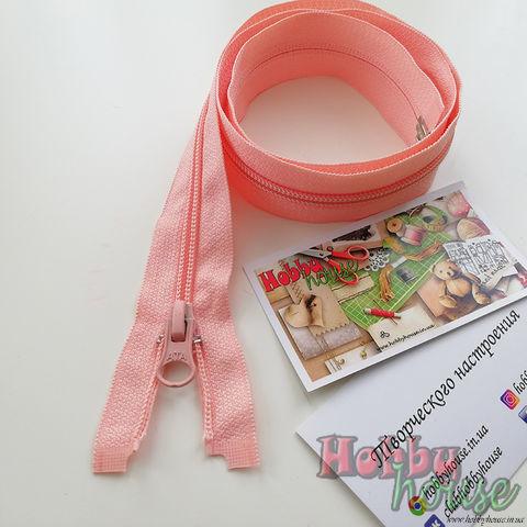 Молния спираль розовая пудра 75 см - 11 грн./шт.