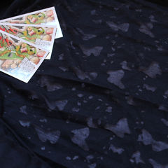 вискозный кулир Деворе темно-синий, шир. 180 - 90 грн./м