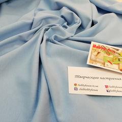 стрейч-кулир небесно-голубой, 180 см - 110 грн./м