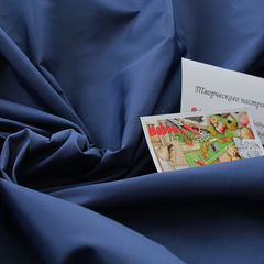 Плащевка Канада, синий джинс, шир. 150 см - 80 грн./м