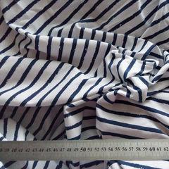 стрейч-кулир тельняшка темно-синяя (сбор), пенье, ширина ок. 180 см СБOp - 130 грн./м