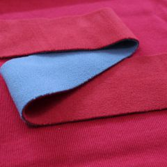 Сочетание серо-красного флиса и красного кашкорсе