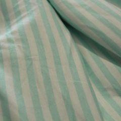 кулир пенье бело-ментоловая полоска 6 мм, шир. 180 см - 90 грн./м