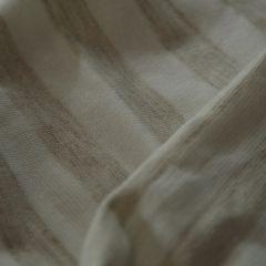 кулир пенье молочно-бежевая полоска 13 мм, шир. 170 см - 90 грн./м