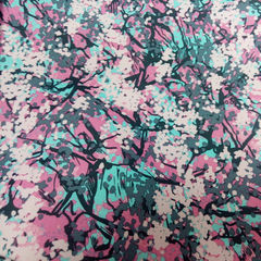 Плащевка розово-серая 150 см - 78 грн./м
