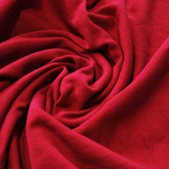 ХБ футер 3-нитка красный, петелька, шир. 200 - 179 грн./м