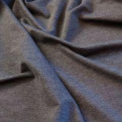 Стрейч-футер 2-нитка с синтетической петлей, цвет джинс 180 см - 115 грн./м