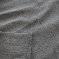 ХБ стрейч-футер 3-нитка серый меланж с начесом, пл. 360, шир. 190 - 179 грн./м