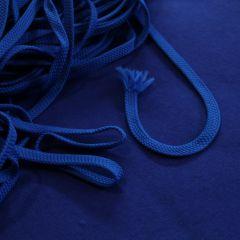 Плоский шнур электрик (на фоне 3-нитки с начесом - разница в тонах видна), шир. 8 мм - 3,50 грн./м