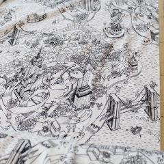 """ХБ футер 2-нитка с начесом """"Город"""", шир. 200 - 199 грн./м  (пружинит за счет переплетения нитей)"""