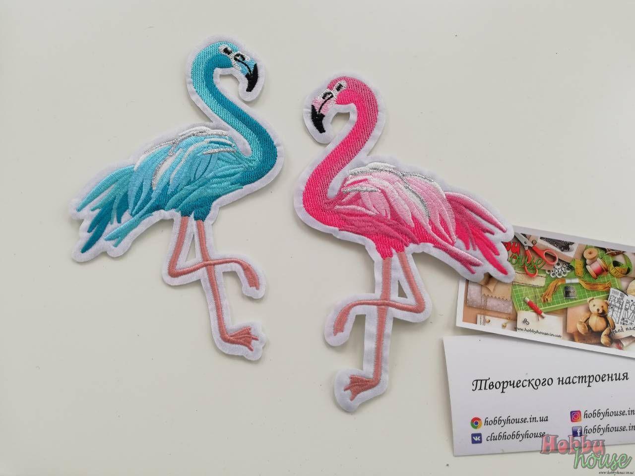 Аппликация фламинго - 16 грн./шт.