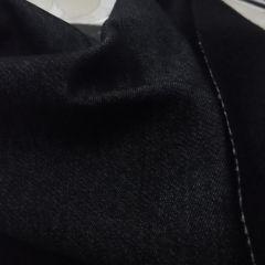 Черный джинс на флисе (есть небольшой поперечный стрейч), 145 см - 155 грн./м