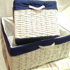 коробки для хранение своими руками (плетение из бумаги)