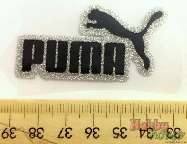 термотрансфер флок puma