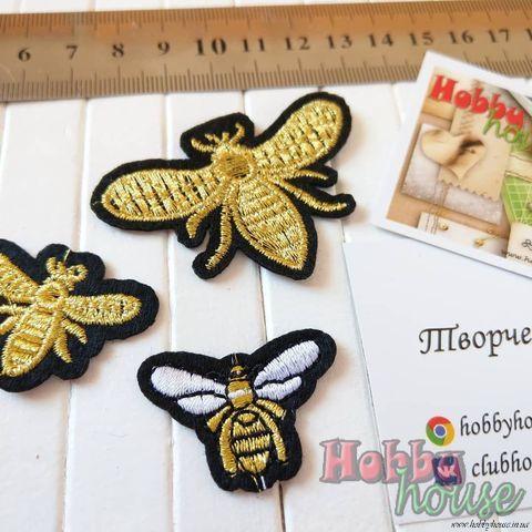 Аппликации пчелки: большая - 15,80 грн., маленькие - по 9,80 грн.