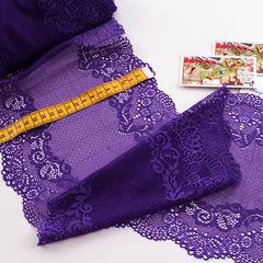 Стрейч-кружево фиолет 601-К 19,5 см - 45 грн./м