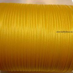 атласная бейка желтая